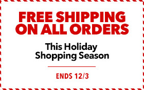 40% Off Site Wide - Free Shipping On All Orders - This Holiday Shopping Season - Ends 12/3